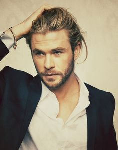 'Chris Hemsworth - PHWOAR' :one of the most accurate descriptions I've read on pinterest!