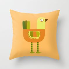 Long Legs Throw Pillow by Milanesa - $20.00