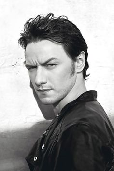 James McAvoy. - if i meet you, i will hug you and never let you go.