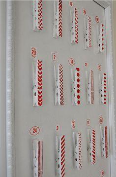 clothes pin Calendar