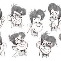 Character Design for Production ★ Find more at http://www.pinterest.com/competing/