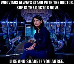 I STAND WITH THE DOCTOR!!! Who I am is where I stand. Where I stand is where I fall.
