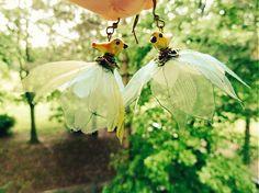 Vtáčiky na krídlach vàžky by Martinuska - SAShE. Handmade Earings, Ale, Jewelry, Jewlery, Jewerly, Ale Beer, Schmuck, Jewels, Jewelery