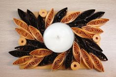 Candle, tealight, rectangle.