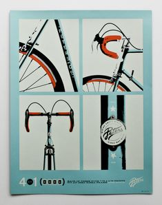 A series of four prints by Allan Peters for Artcrank 2011 in Minneapolis