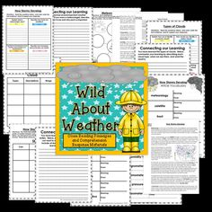 This Close Reading bundle includes three close reading sets about weather tools, cloud types, and storm types. The articles are aligned with the Virginia Standards of Learning (4.6) and each article includes a schema builder, vocabulary set, the article, a questioning page that requires text evidence, and a written response for deeper thinking.