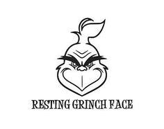 Image result for grinch face pattern svg