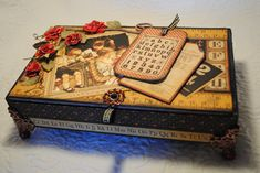 REPURPOSED CIGAR BOX - Scrapbook.com