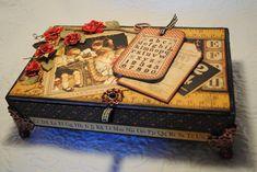 REPURPOSED CIGAR BOX - Scrapbook.com