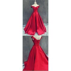 A-Line Halter Long Backless Burgundy Tulle Prom Dress with Beading ❤ liked on Polyvore featuring dresses, red homecoming dresses, long prom gowns, formal gowns, red gown and long red dress