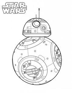 Bb8 Star Wars, Star Wars Kids, Star Wars Rebels, Lego Star Wars, Mandala Coloring Pages, Coloring Pages To Print, Colouring Pages, Printable Coloring Pages, Coloring Sheets