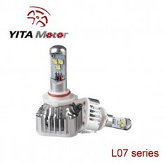 L07-Yita 60W Cree 6000K LED Headlight Replacement Bulbs