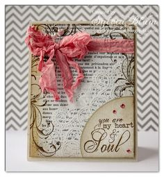 ... {Sylvias Stamping Place} ...: you are my heart and soul