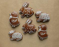 Veľkonočné Galletas Cookies, Easter Cookies, Sugar Cookies, Christmas Cookies, Biscuit Decoration, Chocolate Delight, Easter Brunch, Happy Easter, Cookie Decorating