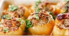 Poivrons farcis...poulet et riz - Recettes - Recettes simples et géniales! - Ma Fourchette - Délicieuses recettes de cuisine, astuces culinaires et plus encore!