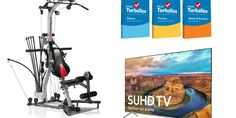 Spring Deals: Lowest Prices On TurboTax, Bowflex Power Rod Gym And Samsung's 8-Series Quantum Dot TVs