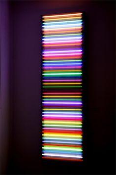 Rob and Nick Carter, Neon Light Sculpture V 2007