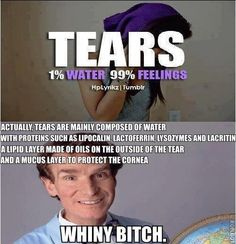 Tears // funny pictures - funny photos - funny images - funny pics - funny quotes - #lol #humor #funnypictures