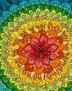 Mandala Apocalypse by Rachel