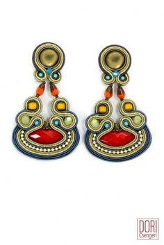 Aventure trendy striking earrings! #DoriCsengeri #red #striking #trendy #earrings #fashion #accessories