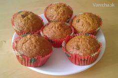Zdravšie mrkvové muffinky - recept | Varecha.sk Muffins, Cupcakes, Favorite Recipes, Breakfast, Ale, Food, Basket, Morning Coffee, Meal