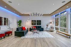 7 tipov, ako urobiť svoj interiér viac eko - Akčné ženy Led Living Room Lights, Living Room Lighting Design, Living Room Designs, Design Room, Home Staging, Led Lighting Home, Lighting Ideas, Room Lamp, Apartment Interior Design