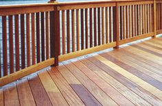 If you have a wood deck, one way to ensure it lasts longer and stays beautiful is to use a high quality stain like Penofin at www.diyhomecenter.com