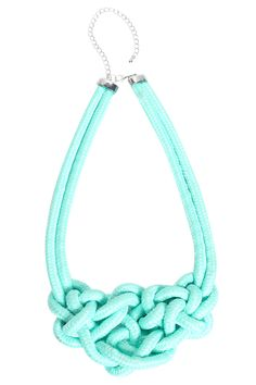 Carly Knot Detail Necklace