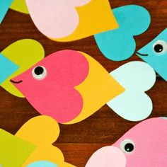 """Best """"fishes"""" for a Happy Valentines Day. -- We made these last year!"""