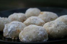 Danish Wedding cookies/Russian Tea cookies/Norwegian Rich cookies/Snowball Cookies