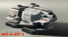 Command & Conquer: Red Alert 3 Concept Art ( I present to you the MCV)