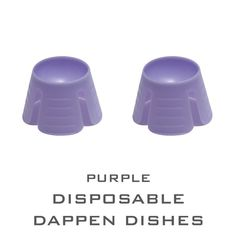 100pcs Dental Multi-purpose Disposable Dappen Dishes Purple  #UnbrandedGeneric