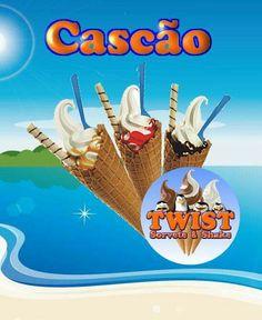 Cascão da Twist Sorvete & Shake Av. Primeiro de Maio,665 Jaguaribe João Pessoa-PB Siga 📸@twist.sorvete