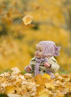 I definately want to take pictures of Karsen in fallen autumn leaves. Bonus points if we can capture one falling!