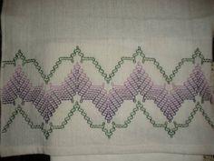 Lilac Towel Set - NEEDLEWORK
