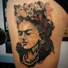 Impressive piece by Crizzo's Arts and Tattoos.