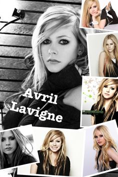 The many faces of Avril Lavigne :). I know I'm old, but I still enjoy her music!  I tend to love angry bitch music-reminds me of Alannis Morrissette, one of my all-time favorites!!!!