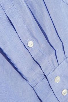 J.Crew - Everyday Cotton Shirt - Blue - US10