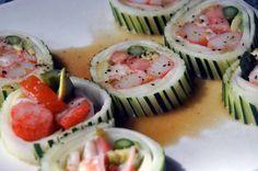 Salad is so last year. try: #cucumber salad #roll #Takosushi