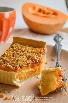 Нежный тыквенный пирог и ореховое пралине: вместе лучше: galartemenko Pumpkin Recipes, Pie Recipes, Sweet Recipes, Cooking Recipes, Dessert Recipes With Pictures, Baked Oatmeal Recipes, Incredible Recipes, Sweet Pastries, Pumpkin Dessert
