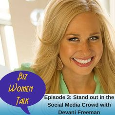 Today on Biz Women Talk: Standing out in the Social Media Crowd, Social Media Taboos, Why you Should Tweet and Avoiding Shiny Object syndrome with #DevaniFreeman. Plus, how you can win a Visa Gift Card #BuildaKickassBiz http://apple.co/1MiIP59 http://apple.co/1IEiRXi
