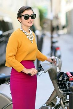 Beautiful Examples Of Tone On Tone Fashion Outfits (13)