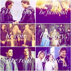 Hunger Games, Harry Potter, Lord of the Rings, Game of Thrones, Supernatural, Star Wars❤️