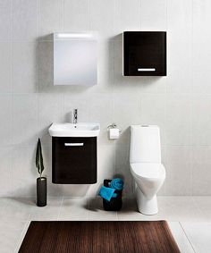 IDO Seven D, yläkertaan valkoisena? Bathroom Inspiration, Toilet, Vanity, Dressing Tables, Flush Toilet, Powder Room, Vanity Set, Toilets, Single Vanities