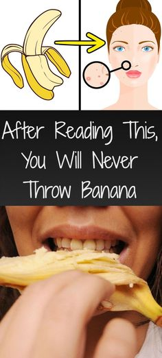 After Reading This, You Will Never Throw Banana Peels Anymore - Wild About Beauty Banana Peel Uses, Wild About Beauty, Get Whiter Teeth, Banana Benefits, Eating Bananas, Dry Skin On Face, Natural Sunscreen, Get Rid Of Blackheads, Skin Care Remedies