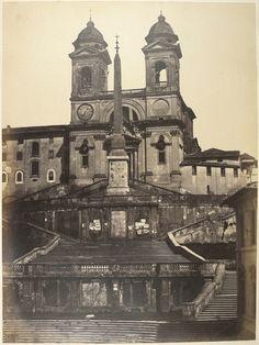 Spanish Steps [Rome] 1855
