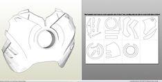 Foamcraft .pdo file template for Iron Man – Mark 4 & 6 Full Armor +FOAM+. Iron Man Helmet, Iron Man Suit, Iron Man Armor, Iron Man Cosplay, Cosplay Armor, How To Make Iron, Corporate Crime, Imprimibles Harry Potter, Iron Man Movie
