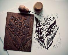 Stamp Carving, Fabric Stamping, Handmade Stamps, Stamp Printing, Chalk Pastels, Linocut Prints, Simple Art, Wood Print, Art Inspo