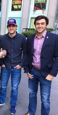 Chase Elliott and Ryan Blaney