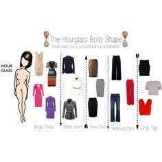 Hourglass Body Shape by minimaliststylist on Polyvore featuring Sonia Rykiel, Diane Von Furstenberg, Miss Selfridge, Monrow, A.L.C., River Island, Carolina Herrera, Donna Karan, Calvin Klein Collection and Être Cécile